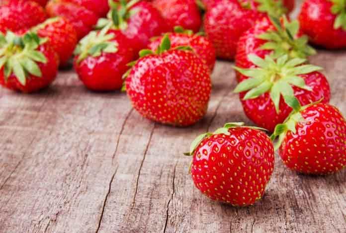 Strawberries for Royal Secret Ayurvedic Antiaging Remedies for Youthful Skin