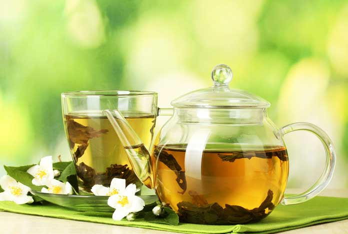 Green Tea for 10 Best Herbs That Help in Weight Loss
