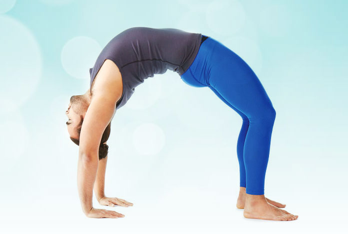 Wheel pose for Does Yoga Really Help in Sexual Wellness