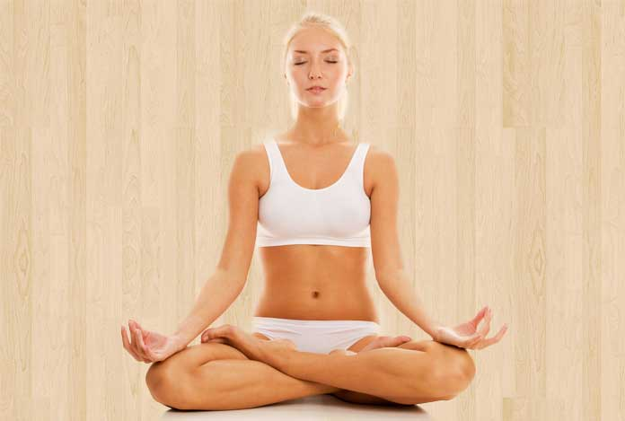 Lotus pose for Does Yoga Really Help in Sexual Wellness