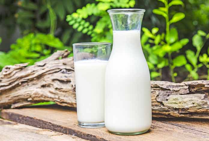 Milk for Home Remedies for Dry Skin