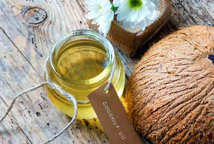 Coconut oil for Home Remedies for Dry Skin