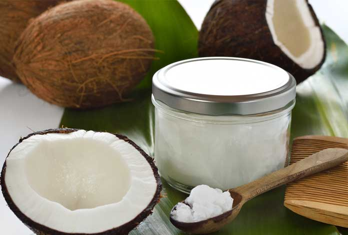 Coconut oil for 7 Most Effective Home Remedies for Hair Thinning