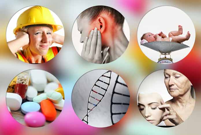 Risk Factors of Developing Hearing Loss