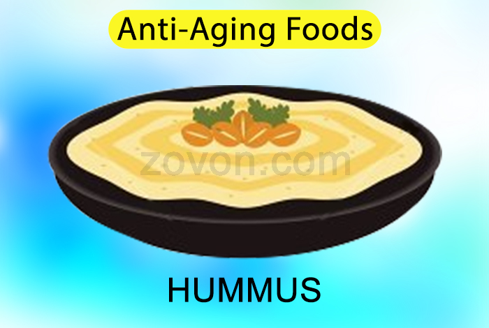 hummus to prevent aging