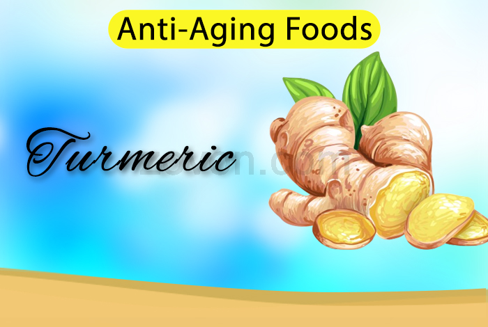 turmeric to prevent aging