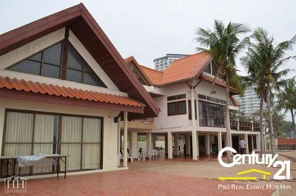 Absolute Beachfront Villa on Hua Hin Beach : SOLD MARCH 2015