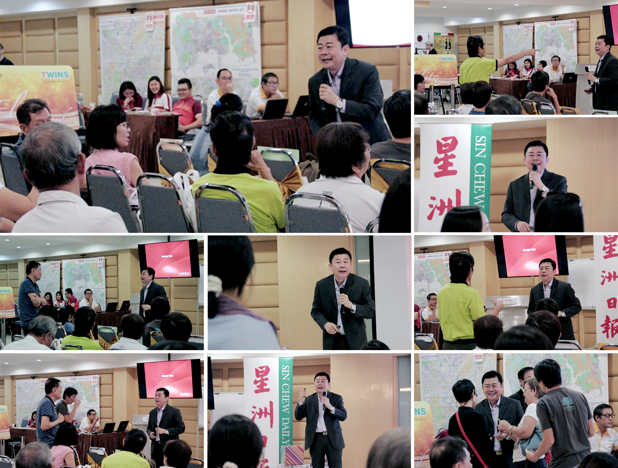 Property Investment & Valuation Insights from LandServe at Sin Chew Twins Property Expo